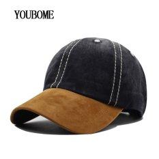 YOUBOME Fashion Baseball Cap Pria Wanita Snapback Topi Casquette Tulang Topi  untuk Pria Solid Kasual Polos 76ea7b7b6e