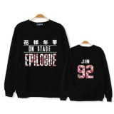 Beli Tim Muda Bts Seoul Konser Sweater Hitam Jin Intl Baru