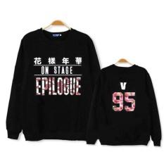 Harga Tim Muda Bts Seoul Konser Sweater Hitam V Intl Origin