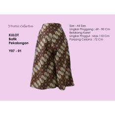 Beli Yourin S Celana Kulot Batik Pekalongan Model Y07 01 Kredit