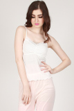 You Ve Diara Lace Tanktop Putih 2 In 1 Asli
