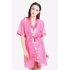 Toko You Ve Kimono Set Cute 327 Pink Baju Tidur Piyama Wanita Online