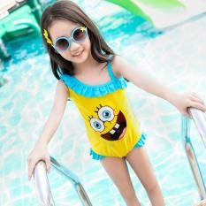 Youyou Lucu Bayi Perempuan Anak Baju Renang Baju Renang (Biru) (Biru)