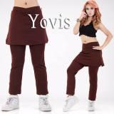 Harga Yovis Cbr Rok Olahraga Baju Senam Wanita Brown Branded