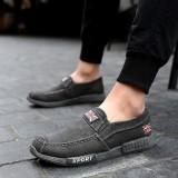 Beli Yozo Pria Sepatu Kasual Tas Wanita Kanvas Slip On Denim Nyaman Tren Pria Outdoor Leisure Shoes Intl Online Tiongkok