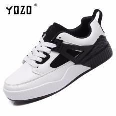 Diskon Produk Yozo Sepatu Wanita Sepatu Lari Udara Mesh Olahraga Sepatu Lace Up Tide Sepatu Air Cushion Bawah Transparan Sepatu Jalan Grey Intl