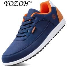 YOZOH Baru Paling Populer Gaya Pria Sepatu Lari Kolam Berjalan Sepatu Kets Nyaman Sepatu Atletik, Pria untuk Olahraga
