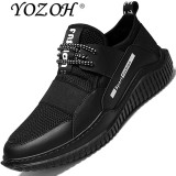 Ulasan Mengenai Yozoh Profession Running Shoes Autumn Winter Men S Sports Shoes Damping Cushioning Athletic Sneakers Intl
