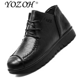 Spesifikasi Yozoh Sepatu Bot Wanita Buatan Tangan Wanita Asli Boots Musim Semi Musim Gugur Sepatu Intl Murah Berkualitas
