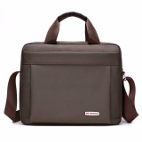 Jual Yslmy Men Waterproof Handbag Business Work Shoulder Bag Cross Body Messenger Laptop Purse Portable Multi Function Brown Intl Oem Online