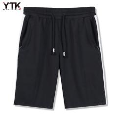 YTK musim panas model baru celana pendek olahraga pria Musim panas katun model tipis Kuda Celana pemuda pasang setengah Casual celana longgar