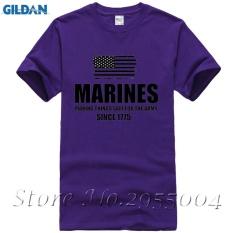 Yuandi DIY Marinir Military Army Men T-Shirt Desain Thanksgiving Day Custom Pendek T Shirts Zaitun-Intl