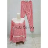Jual Yufei Fashion Baju Tidur Wanita Bunga Panjang Salem Murah Di Dki Jakarta