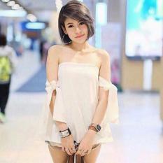 Yuki Fashion Blouse Anaz - White