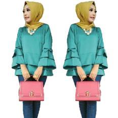 Jual Yuki Fashion Blouse Nasya 2Lapis Bahan Tosca3 Online Di Dki Jakarta