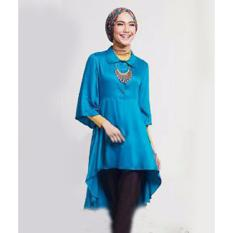 Yuki Fashion Blouse Zoya - Biru
