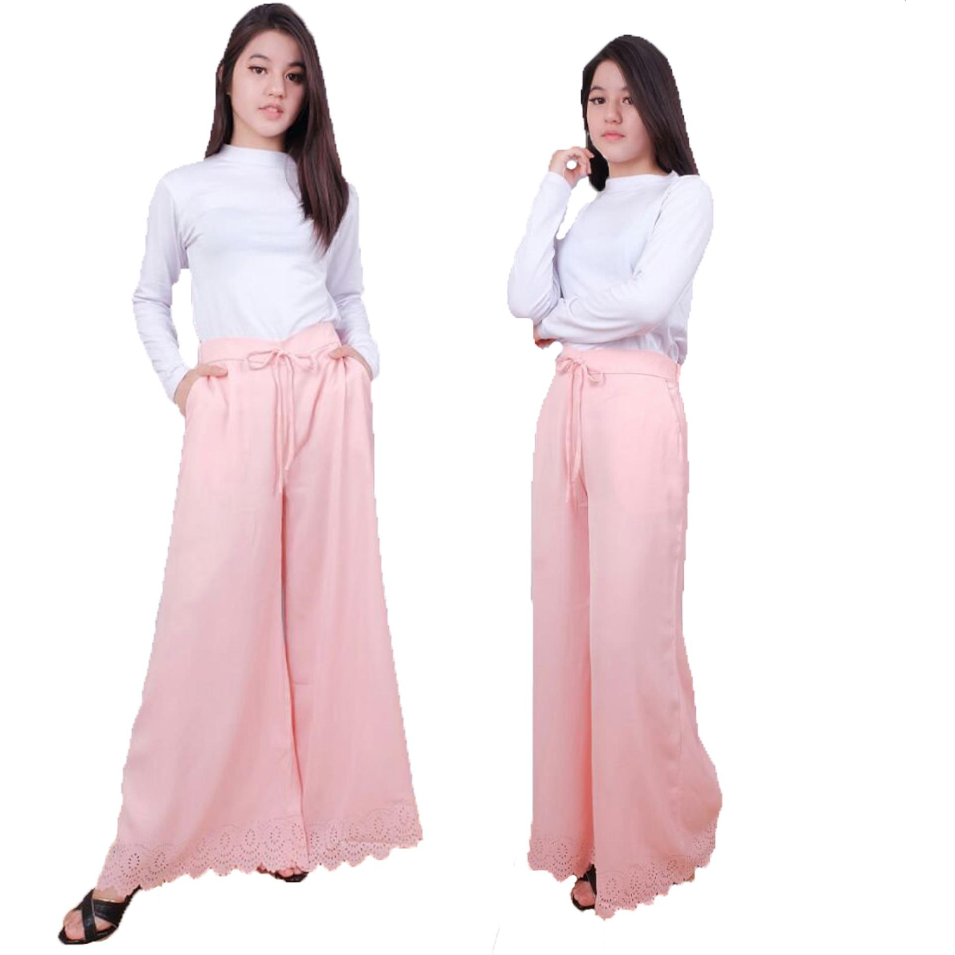 Jo Nic Pleated Flare Maxi Skirt Rok Hijab Fit To Big Size Maroon Wrapped A Line Long Btnl70254 Skirts Panjang Lipit Xl Cream Source