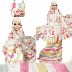 Yuki Fashion Mukena Dewasa Al Gani - Pink 2 - Best Seller