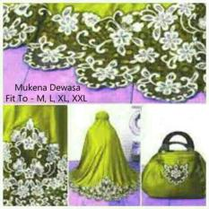 Jual Yuki Fashion Mukena Savira Dewasa 3 Ungu Best Seller Branded Murah