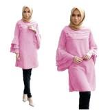 Toko Yuki Fashion Tunik Katty Baby Pink 3 Yang Bisa Kredit