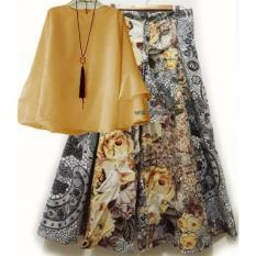 Diskon Yunashop Stelan Kulot Set Kulot Baju Trendy Areta Atasan Warna