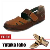 Beli Yutaka Casual Flat Shoes Coklat Gratis Yutaka Krem Jahe Cicil