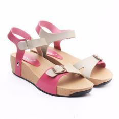 Review Tentang Yutaka Noepoe Sandal Wedges Pink Krem