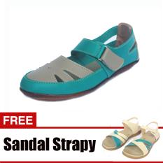 Beli Yutaka Sepatu Casual Hijau Gratis Sandal Triple Online Terpercaya