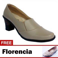 Spesifikasi Yutaka Sepatu Kerja Vrant Trand Krem Free Florencia Sepatu Casual Krem Yg Baik