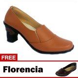 Beli Yutaka Sepatu Kerja Vrant Trand Tan Gratis Florencia Sepatu Casual Cokelat Murah
