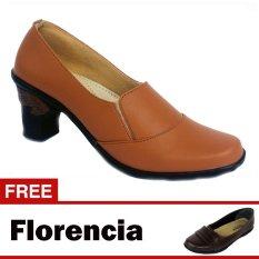 Harga Hemat Yutaka Sepatu Kerja Vrant Trand Tan Gratis Florencia Sepatu Casual Cokelat