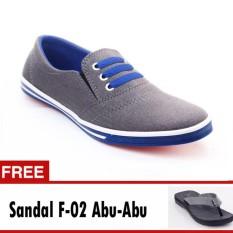 Jual Yutaka Sepatu Kets Sneakers Abu Abu Biru Free Footage Sandal Pria F 02 Abu Abu Ukuran 39 Baru