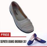 Harga Yutaka Sepatu Wanita Ld03 Cream Gratis Sepatu Jeans Ukuran 37 Branded