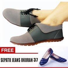 Beli Yutaka Sepatu Wanita N30 Abu Abu Gratis Jeans Ukuran 37 Lengkap