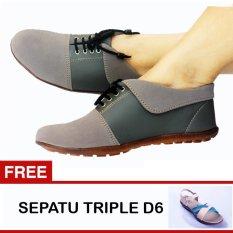 Harga Yutaka Sepatu Wanita N30 Abu Abu Gratis Sepatu Triple D6 Baru Murah