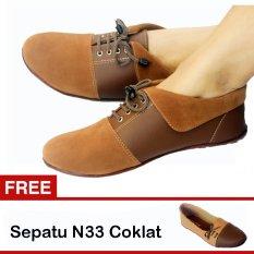 Spesifikasi Yutaka Sepatu Wanita N30 Jh Gratis Sepatu N33 Coklat Dan Harga