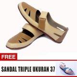 Yutaka Sepatu Wanita Sp30 Kream Jahe Gratis Sepatu Triple Ukuran 37 Diskon Jawa Timur
