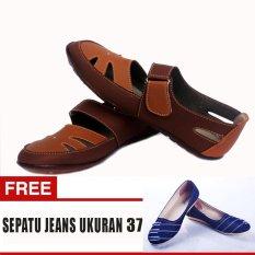 Beli Yutaka Sepatu Wanita Sp30 Tan Gratis Jeans Ukuran 37 Cicilan