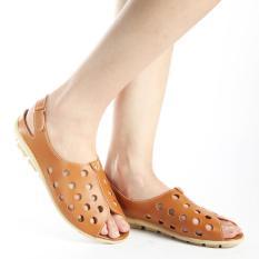 Toko Yutaka Sepatu Wanita Tan B3 Online Terpercaya