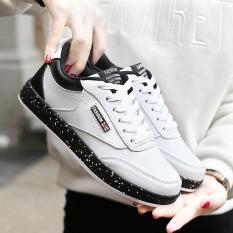 Yuzi 2018 Musim Semi Baru Siswa Putih Sepatu Korea Gaya Inggris Kasual Wanita Sepatu Lari Nyaman Liar Olahraga Sepatu