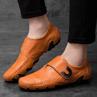 Pencarian Termurah Yuzi Pria Loafer Moccasins Sepatu Tergelincir Bernapas Sepatu Modis Sepatu Pria Datar harga penawaran - Hanya Rp287.113
