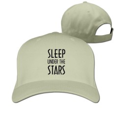 YYQON Sleep Under The Stars Enamel MugCasual Solid Color Cap - intl