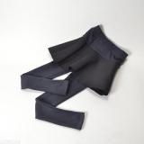 Harga Z047 Musim Gugur Dan Musim Dingin Pinggang Tinggi Keelastikan Legging Terlihat Langsing Celana Rok Hitam Dan Abu Abu Asli