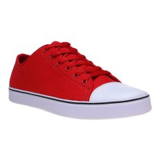 Review Toko Zada Canvas Casual Sneakers Merah