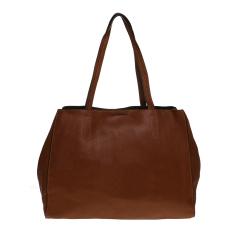 Beli Zada City Tote Bag Cokelat Tua Cicil