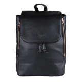 Spek Zada Foldover Flap Backpack Black Indonesia