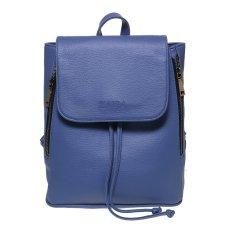 Beli Zada Foldover Flap Backpack Blue Online Terpercaya