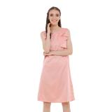 Toko Zada Frill Dress Pink Yang Bisa Kredit