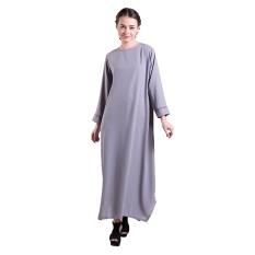 Zada Gamis Syar'i Maxi Dress - Abu