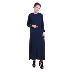 Zada Gamis Syar'i Maxi Dress - Navy